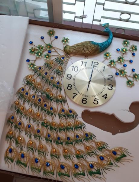 đồng hồ treo tường nghệ thuật dh919-1