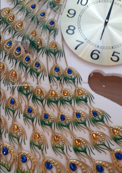 đồng hồ treo tường nghệ thuật dh919-2