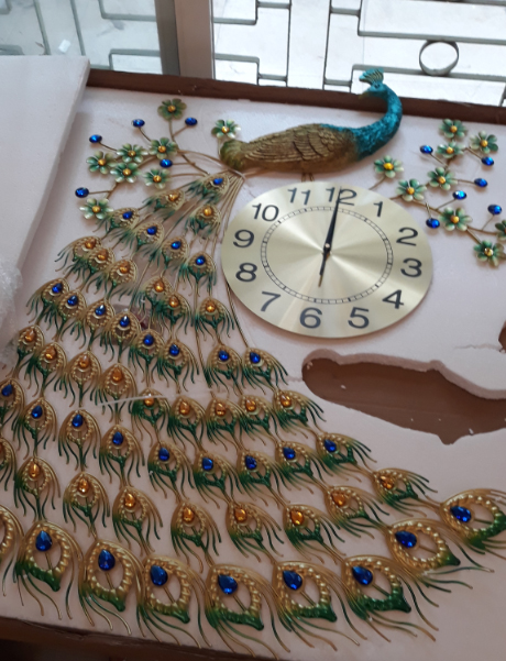 đồng hồ treo tường nghệ thuật dh919-3