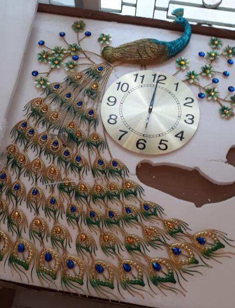 đồng hồ treo tường nghệ thuật dh919