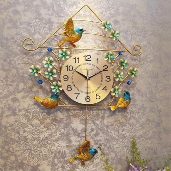 đồng hồ trang trí nghệ thuật dh32