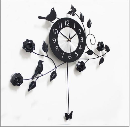 đồng hồ trang trí phòng khách dh31
