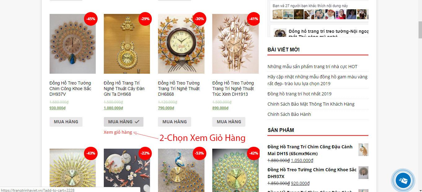 Hỗ Trợ Mua Hàng Online Tại Trang Trí Nhà Việt-1