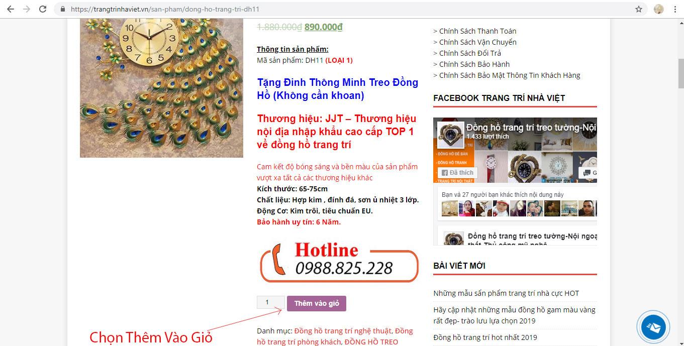 Hỗ Trợ Mua Hàng Online Tại Trang Trí Nhà Việt-2