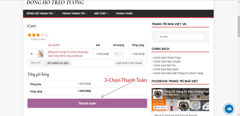 Hỗ Trợ Mua Hàng Online Tại Trang Trí Nhà Việt-4