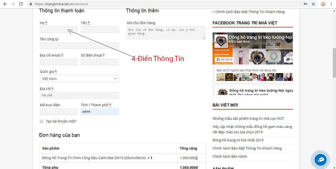 Hỗ Trợ Mua Hàng Online Tại Trang Trí Nhà Việt-5