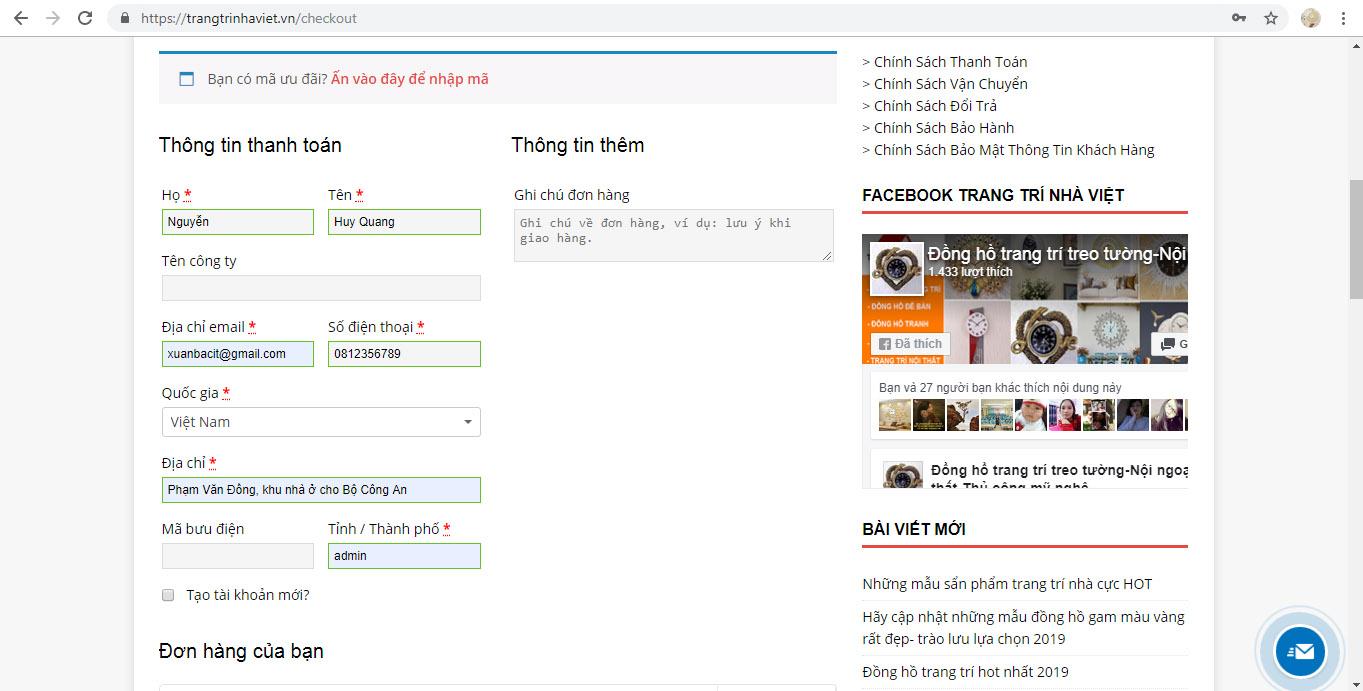 Hỗ Trợ Mua Hàng Online Tại Trang Trí Nhà Việt-7