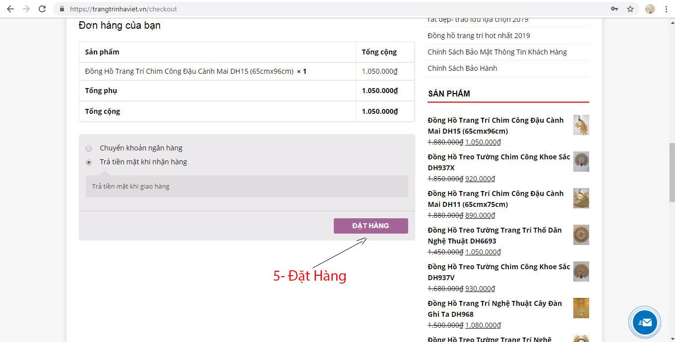 Hỗ Trợ Mua Hàng Online Tại Trang Trí Nhà Việt-8