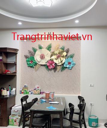 Tranh Sắt Treo Tường Trang Trí Phòng Khách IP1048- Nghệ Thuật Decor Mới-1