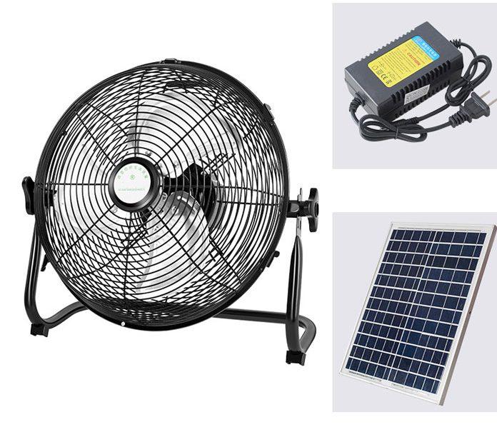 Quạt năng lượng mặt trời cao cấp sl01
