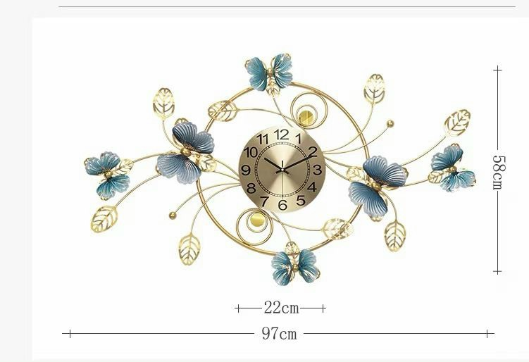 đồng hồ trang trí dh206