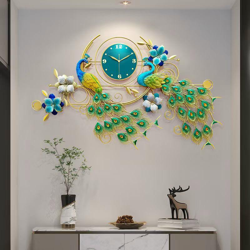 đồng hồ trang trí phòng khách dh207