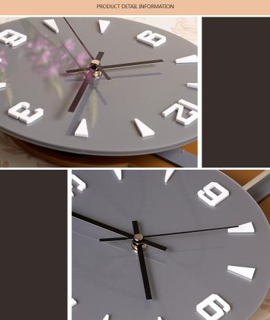 đồng hồ trang trí ql06