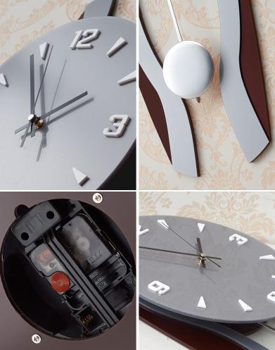 đồng hồ treo tường ql01