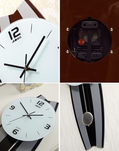 đồng hồ treo tường ql03