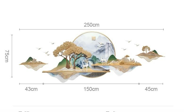 Kích thước tranh trang trí phù điêu rp2012